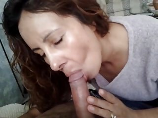 Beloved BJ Together with Cum Swallow